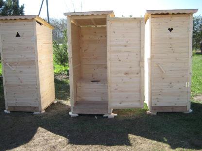 Дачный туалет В Эстонии